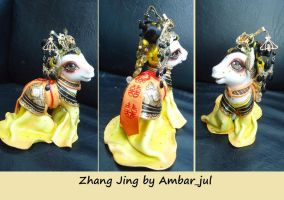Chinese princess Zhang Jing by Ambar_jul by AmbarJulieta