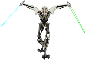 Cartoon General Grievous by bobrox15