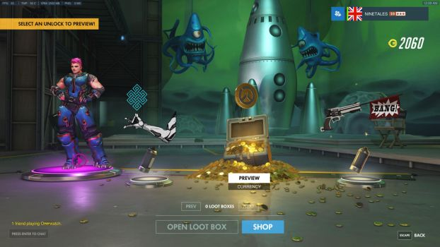 Overwatch Ingame 8K ( Lootboxes ) by EvilNinetales