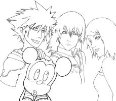 Kingdom Hearts by lionheartslayerX