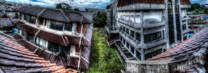 Old building panoramic HDR by eyeinterruption