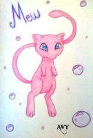 Mew by AvictoriaY
