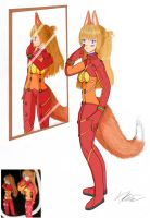 Fox Asuka by Paskiz