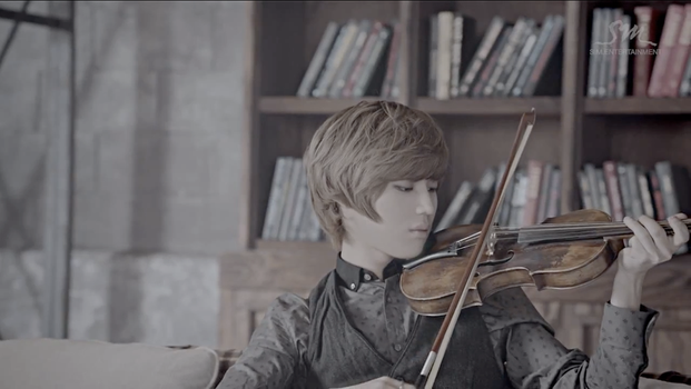 Taemin is a violinist? by MidnightMadness11