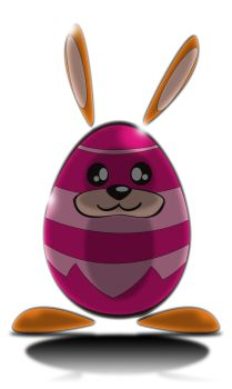 Egg-ster bunny by and23as