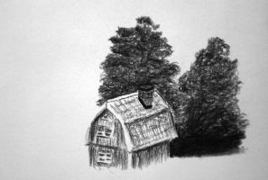 Charcoal study by Tacoly