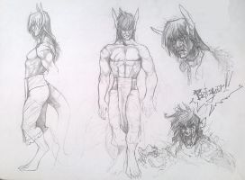 Reference? No, this is another sketch by Rem-Jericho