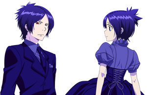 Mukuro and Chrome by Narusailor