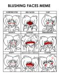 HoneyBatty: Blush Meme by HoneyBatty16
