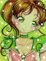ACEO 3: Sailor Jupiter by nanako87