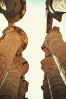 Karnak temple by Vecordio