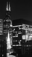 Chicago Night by hseamons