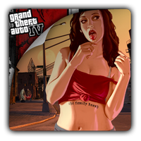 Grand Theft Auto IV v2 icon by Themx141