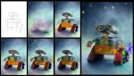 Wall-E in process by Azot2014