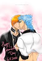 GrimmIchi Day: Stole A Kiss by Naru-Nisa