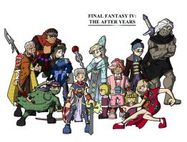 Final Fantasy IV: After Years by FearTheMeatball