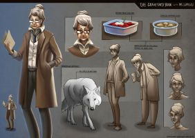 The Graveyard Book - Miss Lupescu by Clotaire
