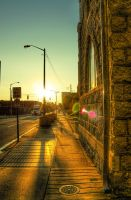 Sunset Street HDR by joelht74