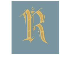 Letter R by MariahLynnDesign