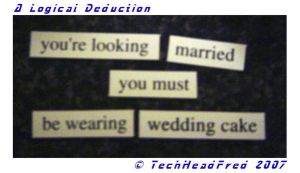A Logical Deduction by techheadfred