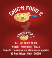 Chic'n'Food Carte Visite 1 by Fnayou