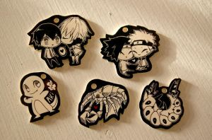 Shrinkie Dink Charms :3 by Pappomut