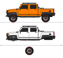 2012 Hummer H3T project thumb by airsoftfarmer