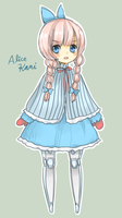CC in Wonderland: Alice!Kani by BIackCat
