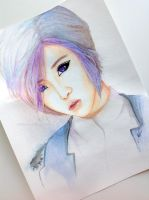 Minzy 2.0 -- 2NE1 Painting Fan Art by antuyetlai