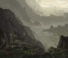landscape doodle by Chillalord