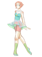[Doddle] Pearl by FrauJNnLuddy