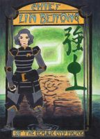 Earth: Chief Lin Beifong by Glauca