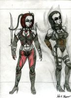 Vixens of BloodRayne by MrDarksMayhem-B