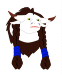 Drawing Give Aways - Tauren Female by constantie
