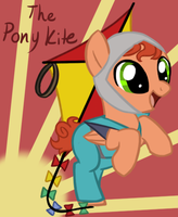 SP MLP- The Pony Kite by Fire-Girl872