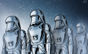 Ep. 7 Snowtroopers by SmacksArt
