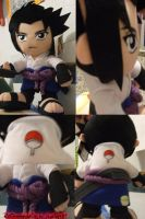My Sasuke plushie by vegetapr69