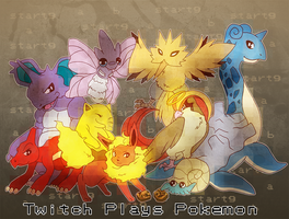 Twitch Plays Pokemon by Kintsugi