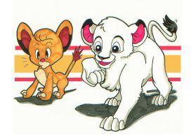 Kimba in Simba's Era by Terreiness