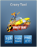 Crazy Taxi Icon by UltimateAoshi