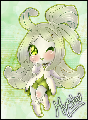 Chibi Kiwi Request by DarkMysha