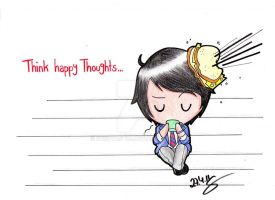 Think happy Thoughts by Susutastic