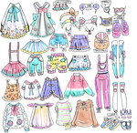Custom Mix and Match outfits 3 by Guppie-Vibes