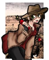 the cowgirl of gaia by T3hb33
