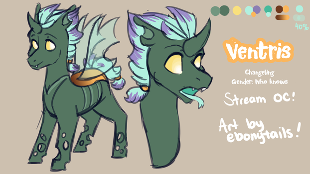 [ Ref ] Ventris by EbonyTails