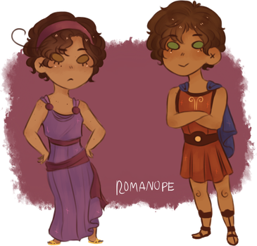 aph : i won't say i'm in love by romanope