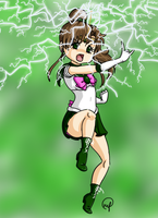pretty soldier sailor jupiter by bunnystar