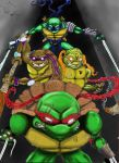 4 turtle brothers by zippo419