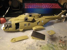 1/48 Scale AW-101 Merlin HC3 progress 4 by Coffeebean2