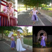 Rapunzel of Tangled by CostumesbyCait